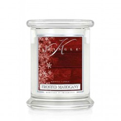 KRINGLE CANDLE FROSTED MAHOGANY GIARA MEDIA