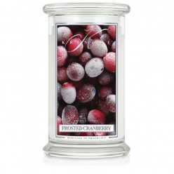 KRINGLE CANDLE FROSTED CRANBERRY GIARA GRANDE