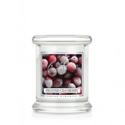 KRINGLE CANDLE FROSTED CRANBERRY GIARA PICCOLA