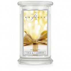 KRINGLE CANDLE GOLD & CASHMERE GIARA GRANDE