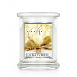 KRINGLE CANDLE GOLD & CASHMERE GIARA MEDIA