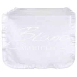 RUNNER CON GALETTA BIANCO BLANC MARICLO'