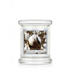 KRINGLE CANDLE EGYPTIAN COTTON GIARA PICCOLA